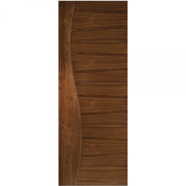 Cửa phòng gỗ một cánh gỗ óc chó W02