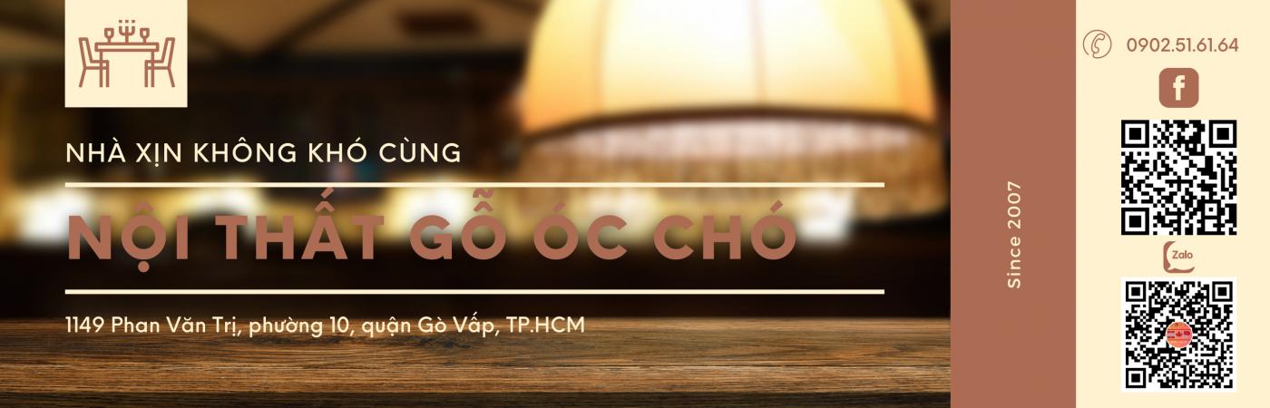 Noi That Go Oc Cho Banner